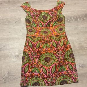 Milly New York Paisley Silk Dress Size 2